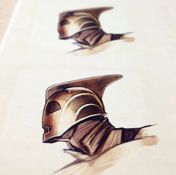 Free Mini Rocketeer 'Hood Ornament' Print with Every Order  (while stocks last)