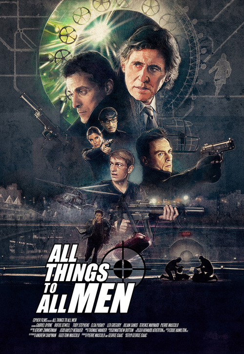 All Things To All Men - Illustrated One Sheet Variant