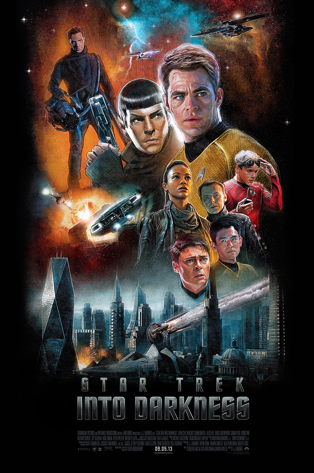 Star Trek: Into Darkness by Paul Shipper