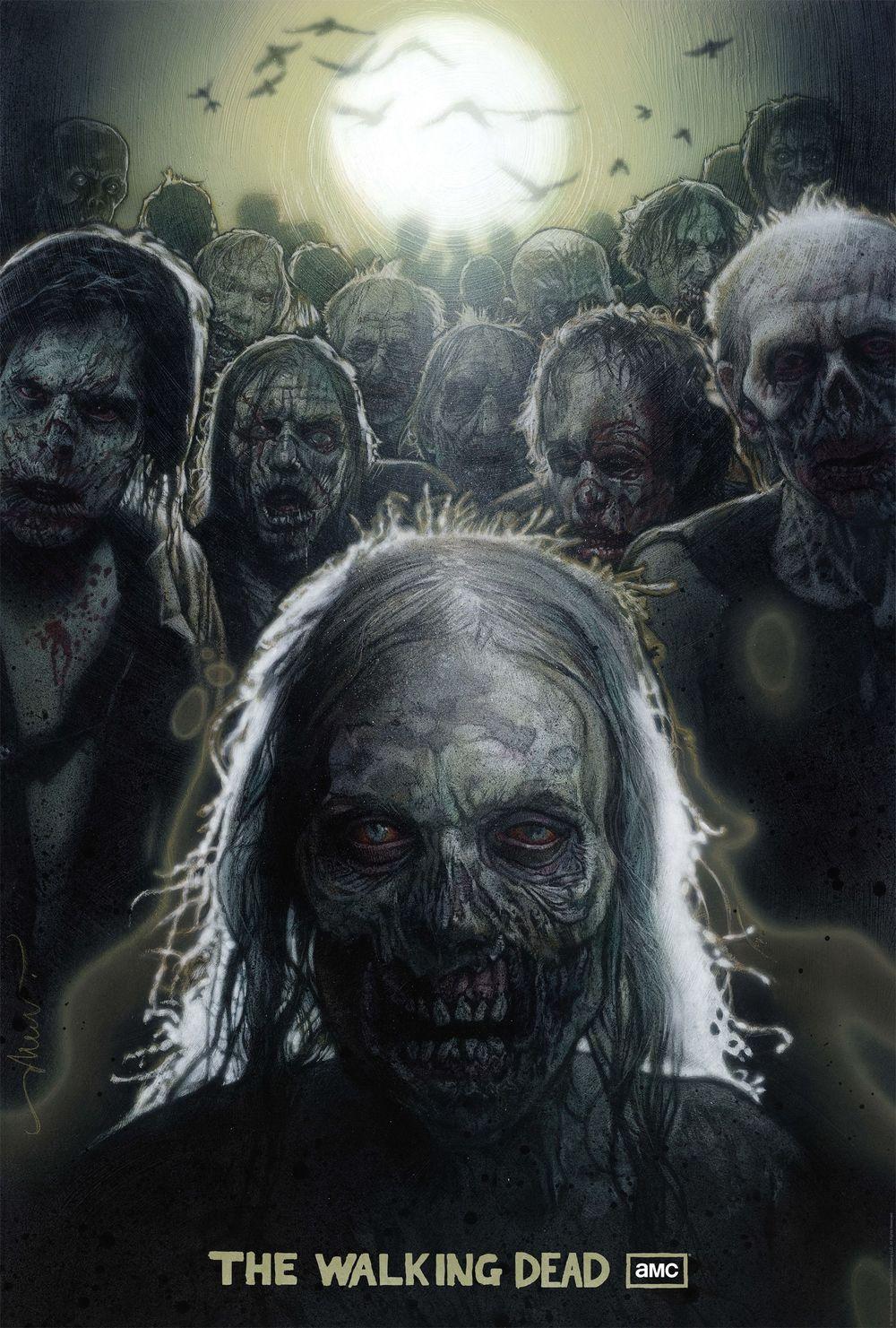 The Walking Dead Season 1 SDCC Poster by Drew Struzan