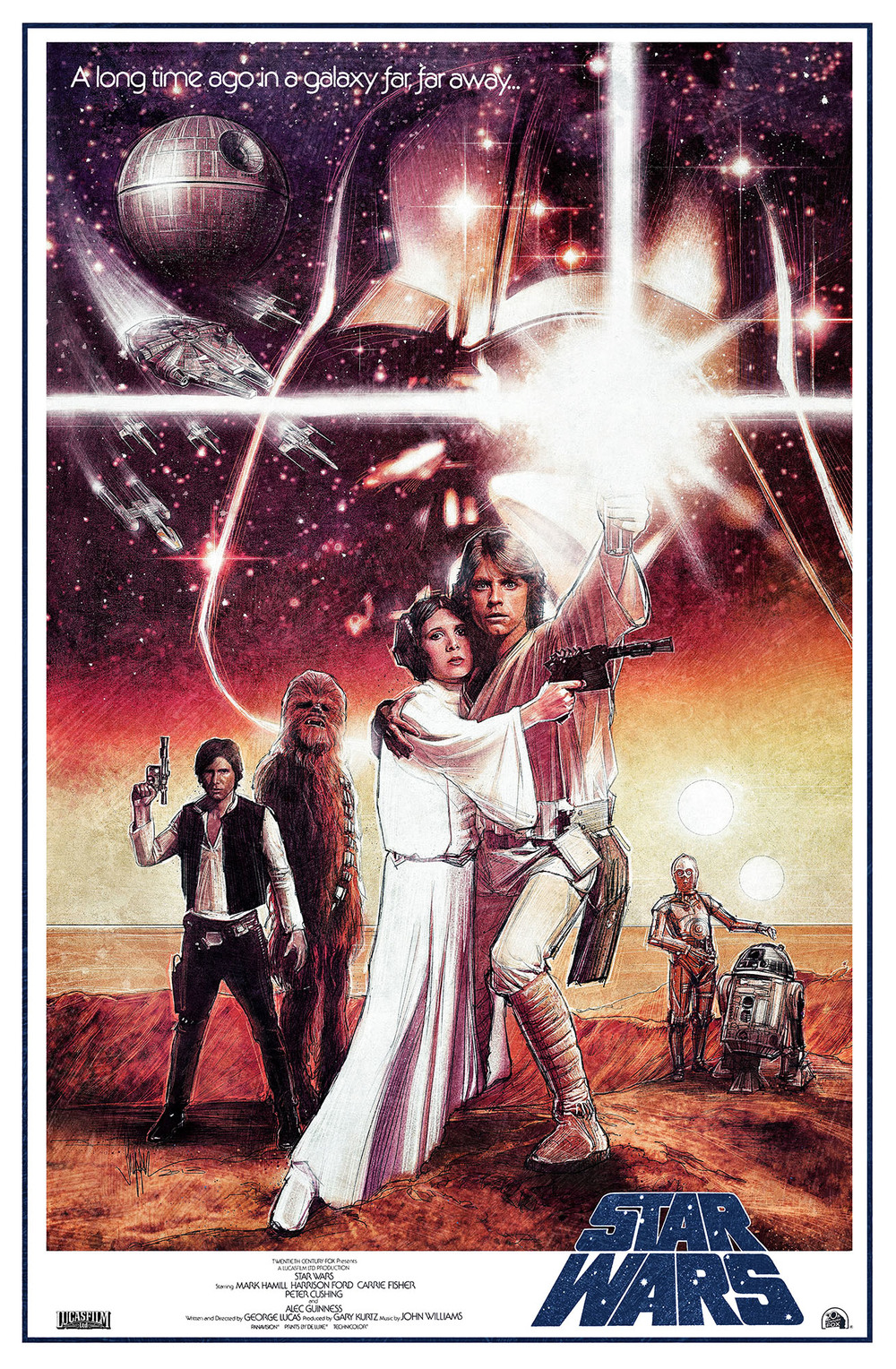 Star Wars: Ep IV A New Hope - Re Imagined