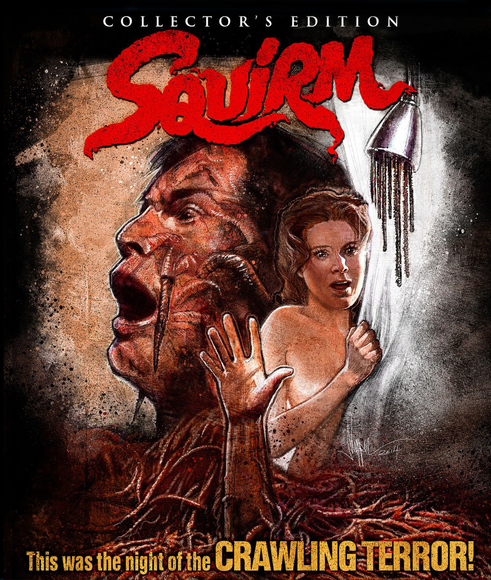 Squirm Blu Ray Art