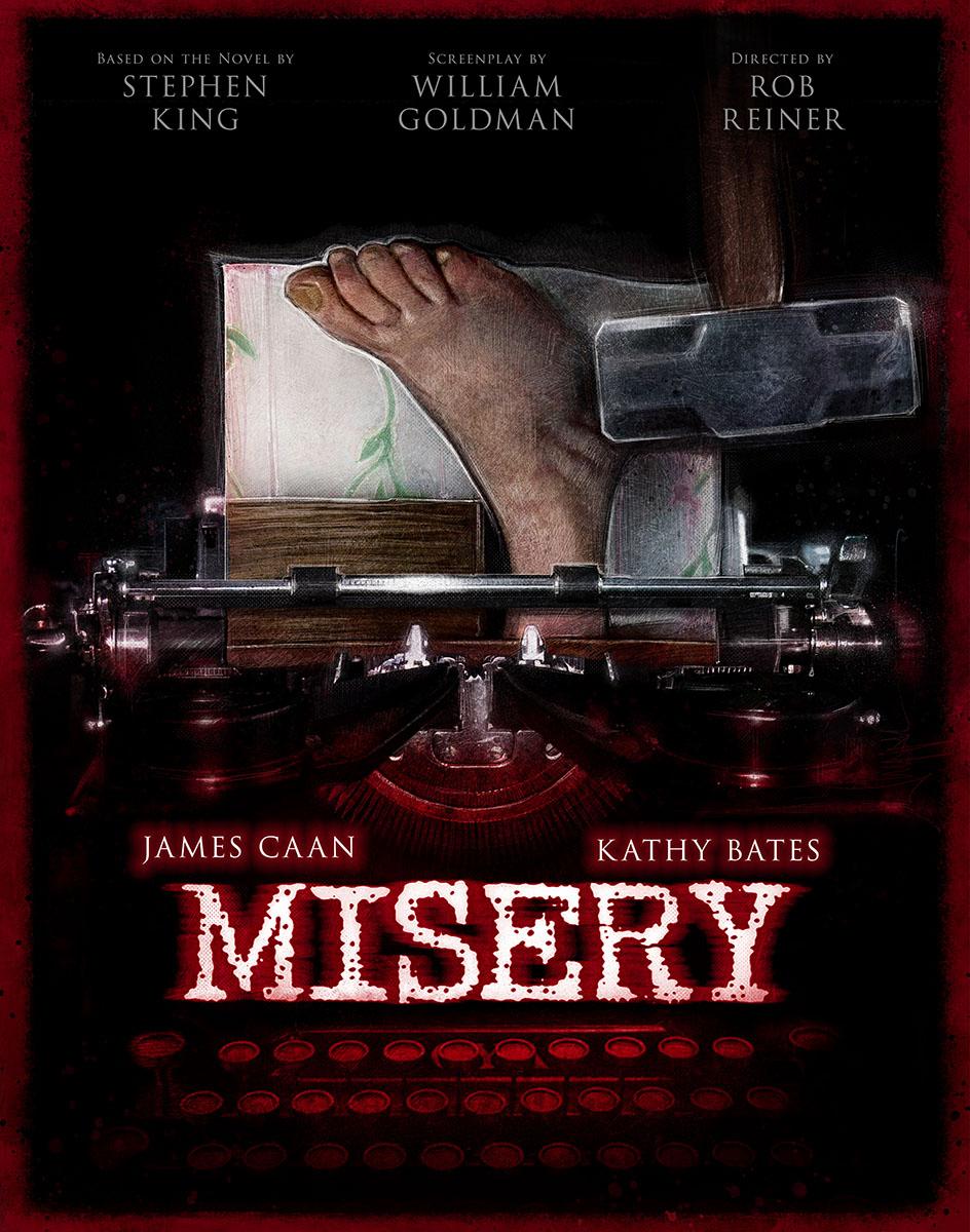 MISERY 2014 Re-Release Art
