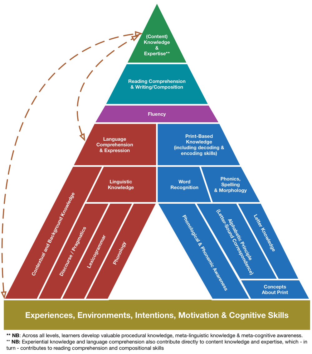 FIGURE 1:   Adapted from Literacy Framework from SEDL
