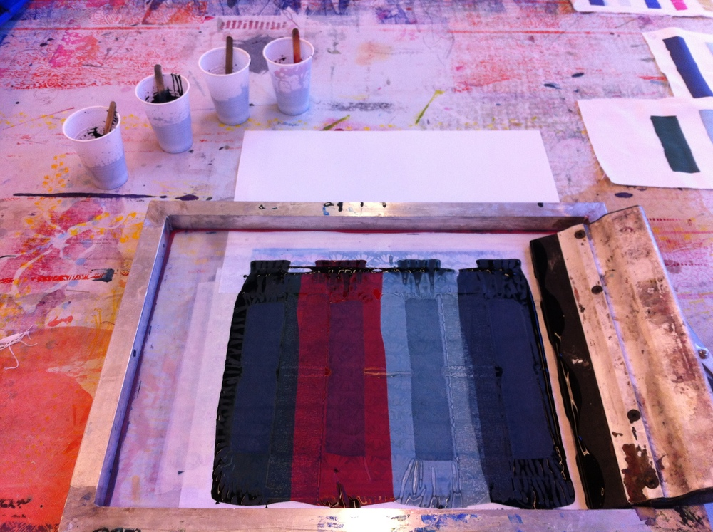 Achieving the desired colour can take time, as the printed colour must be steamed and washed before the true colour is revealed.