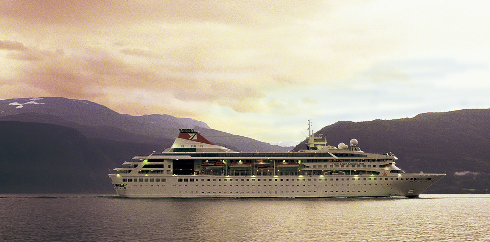 The Braemar, Sognefjord, Norway for Fred Olsen line