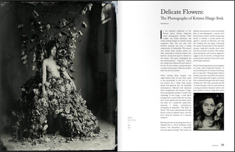 Delicate Flowers: The Photographs of Kristen Hatgi-Sink  Don't Take Pictures, Issue 6 (March 2016)