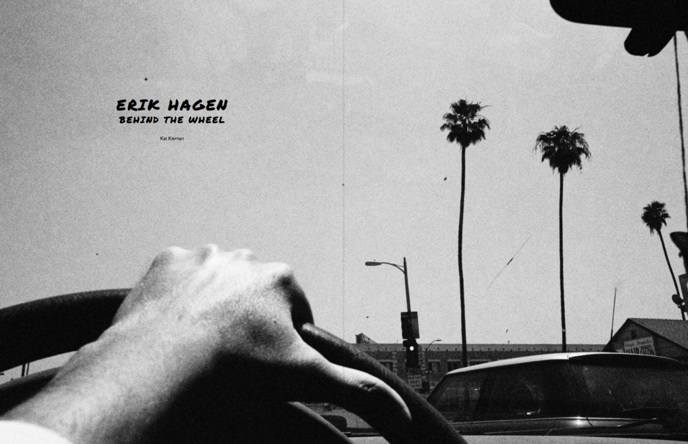 Erik Hagen Behind the Wheel  Don't Take Pictures, Issue 7 (September 2016)