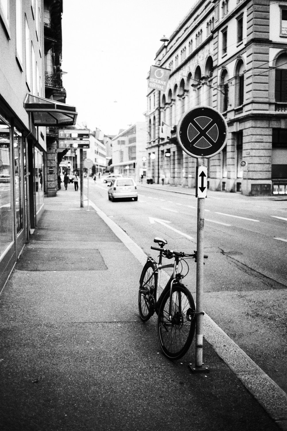 Fahrrad in Luzern