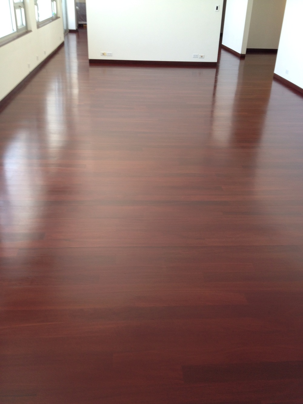 African Celtis Mixed Color Grades Stained Mahogany