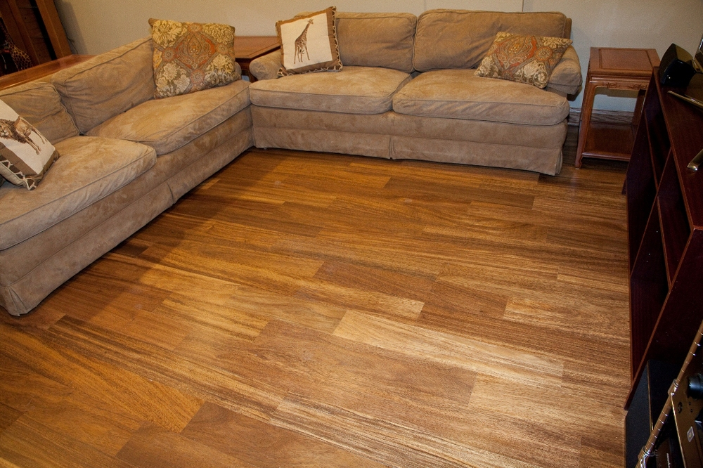 "Prefinished Albizzia 5-1/2"" Wide Flooring"