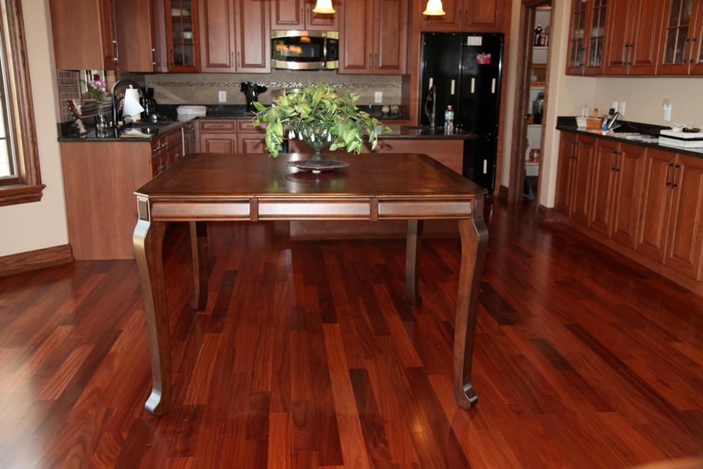 Photo gallery exotic hardwood flooring lumber for Exotic wood flooring