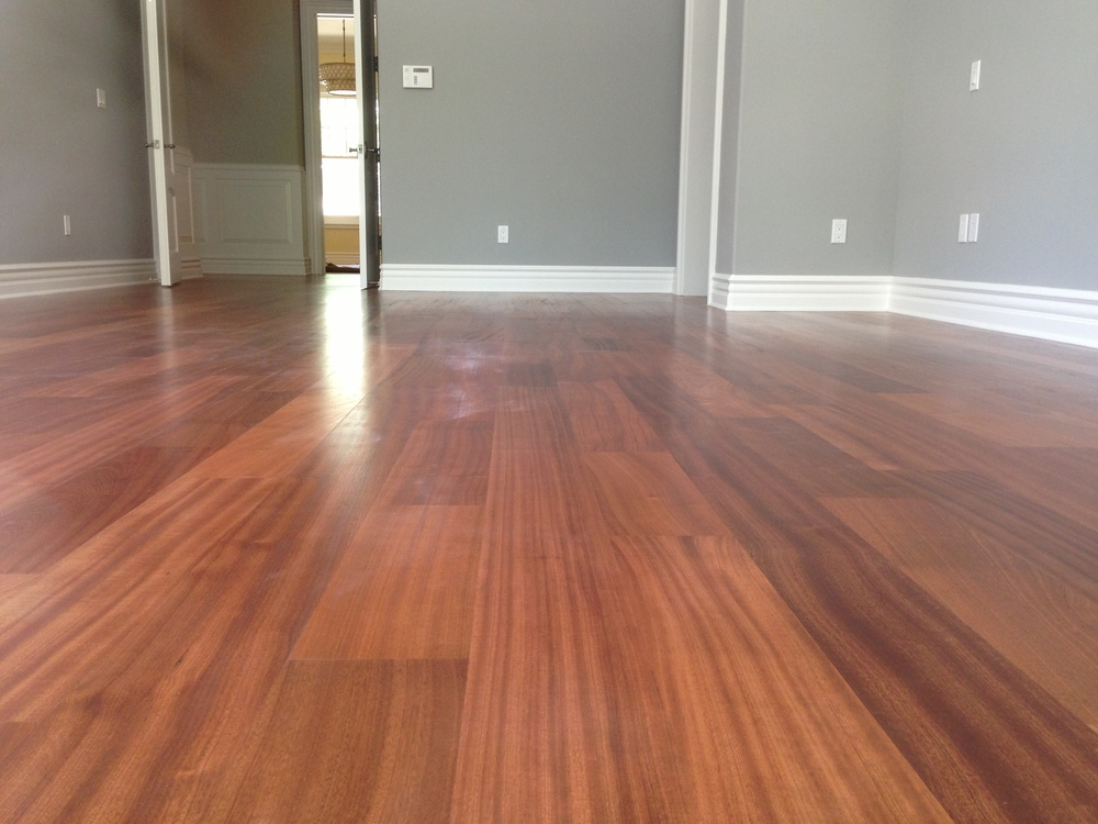 Sapele Solid Harwood Flooring