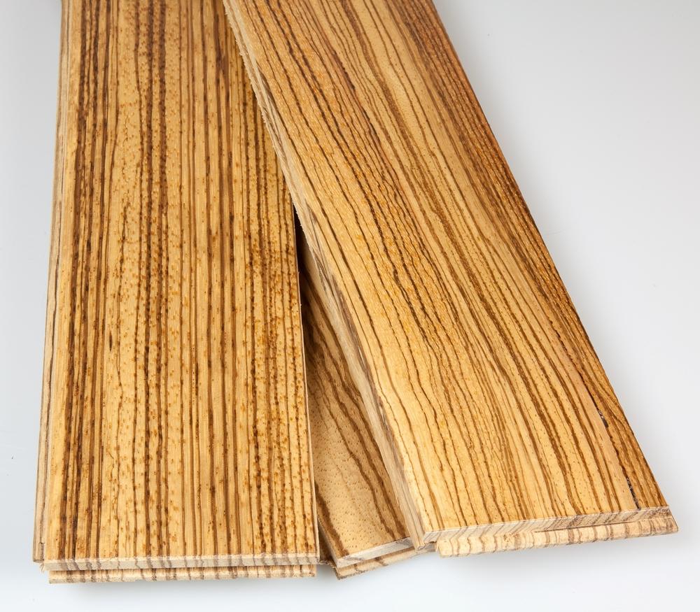 Zebrawood Hardwood Flooring