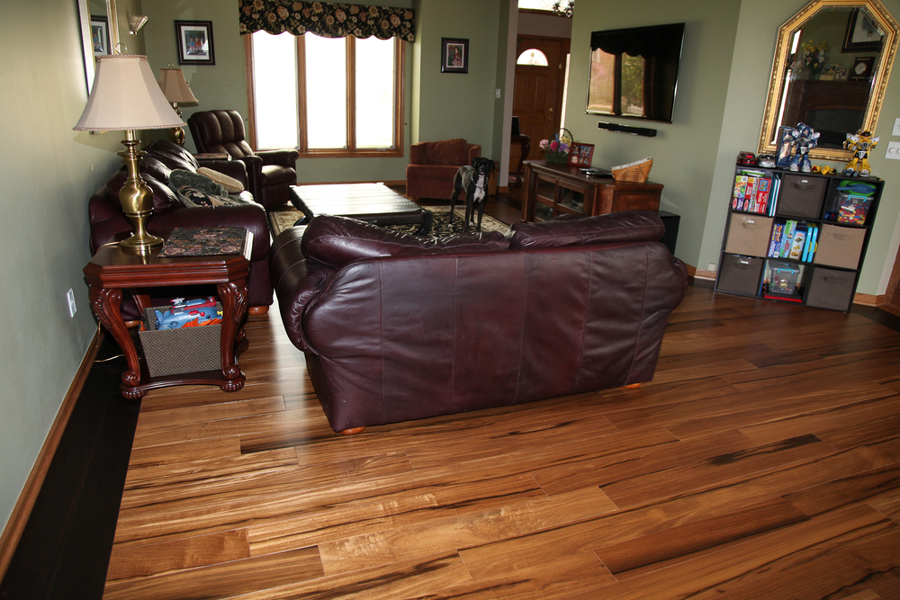 African Celtis Natural Medium Hardwood Flooring