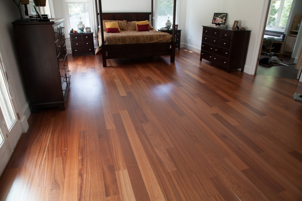 Sapele Engneered Flooring Prefinished 4-3/4""