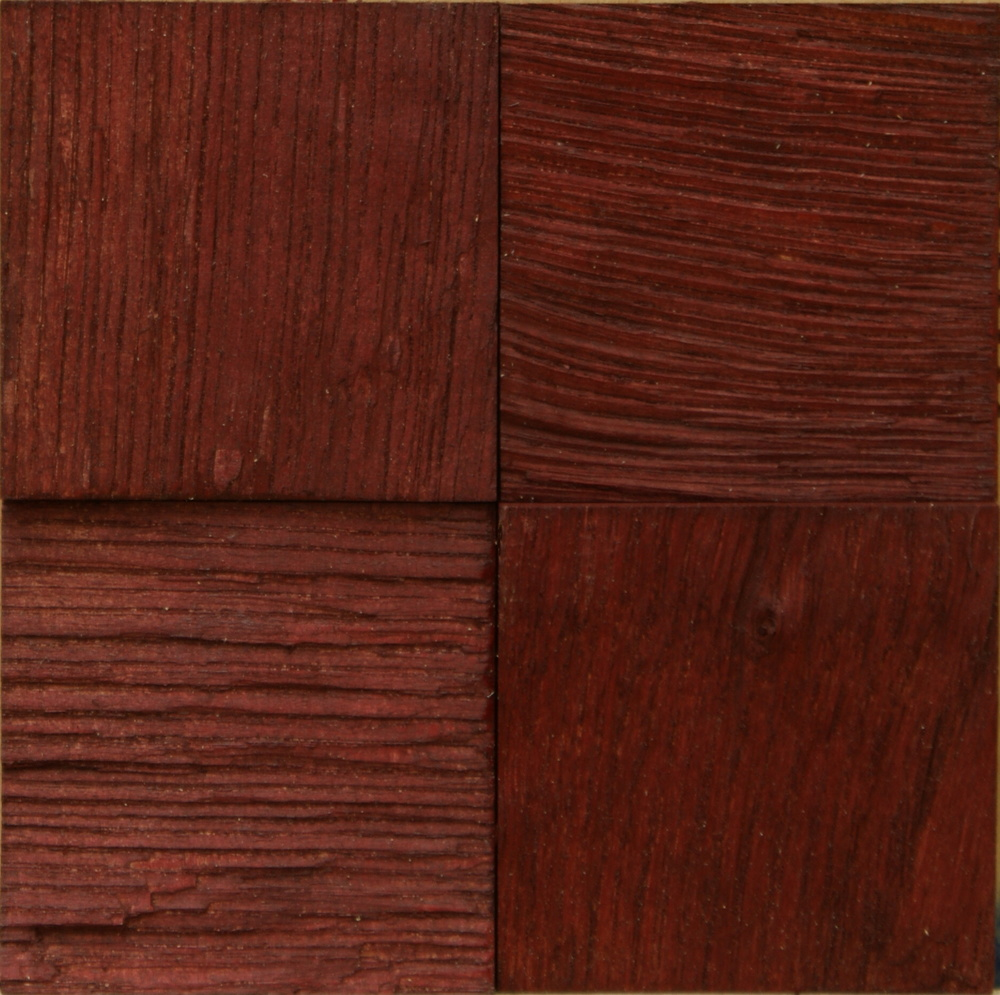Oak Massive Tiles Bordo Oil