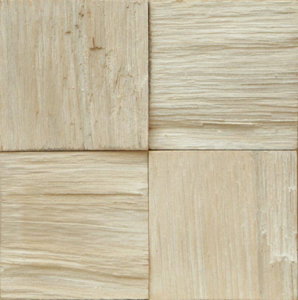 Oak Massive Tiles Extra White Oil