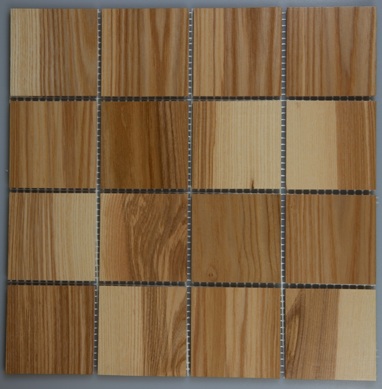 Ash 70mm x 70mm Wood Tile