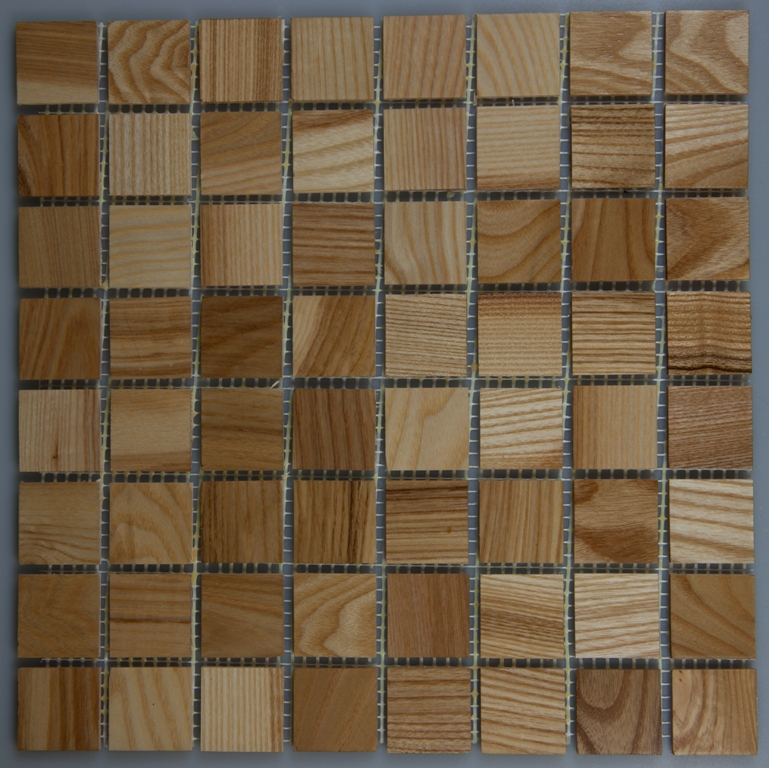 Ash 33.5mm x 70mm Wood Tile