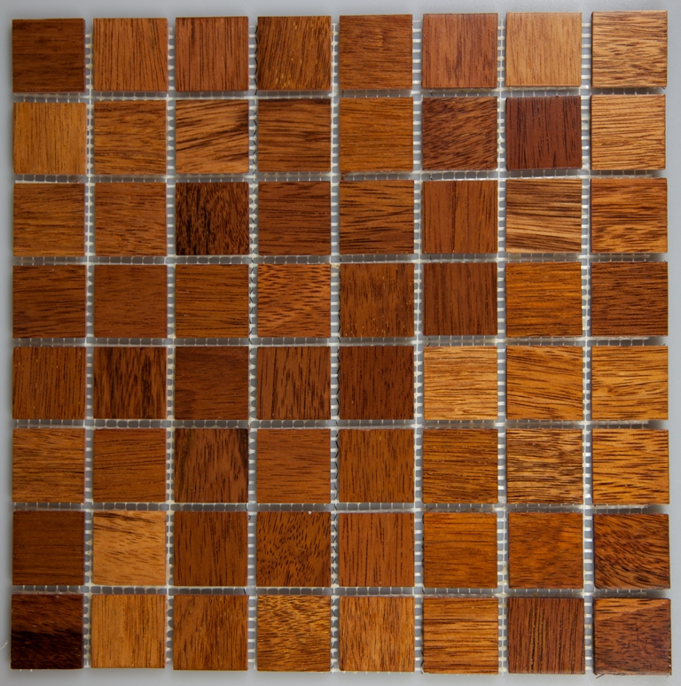 Merbau 33.5mm x 33.5mm Wood Tile
