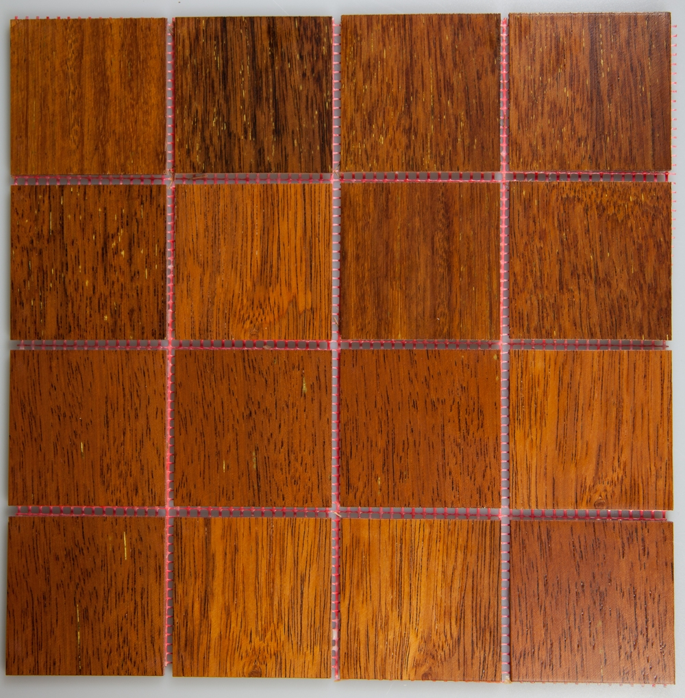 Merbau 77mm x 77mm Wood Tile