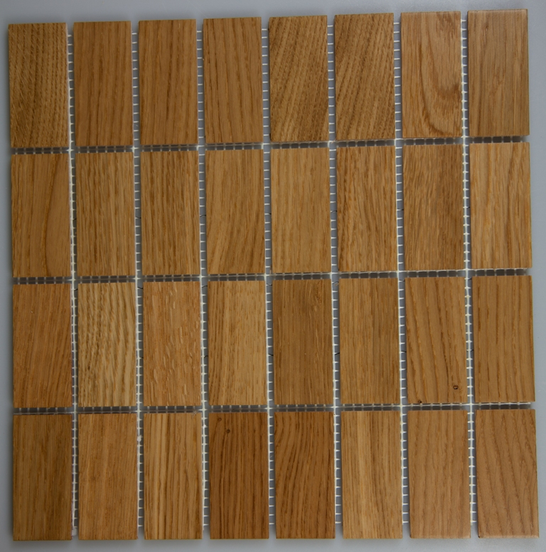 Oak 33.5mm x 77mm Wood Tile