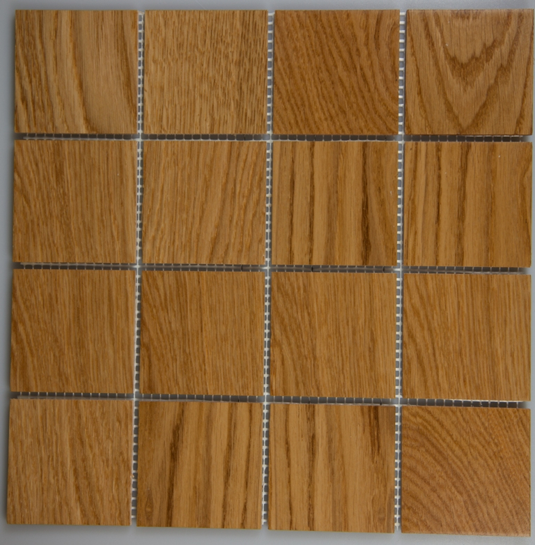 Oak 77mm x 77mm Wood Tile
