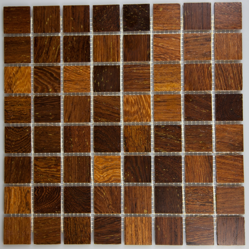 Panga Panga 33.5mm x 33.5mm Wood Tile