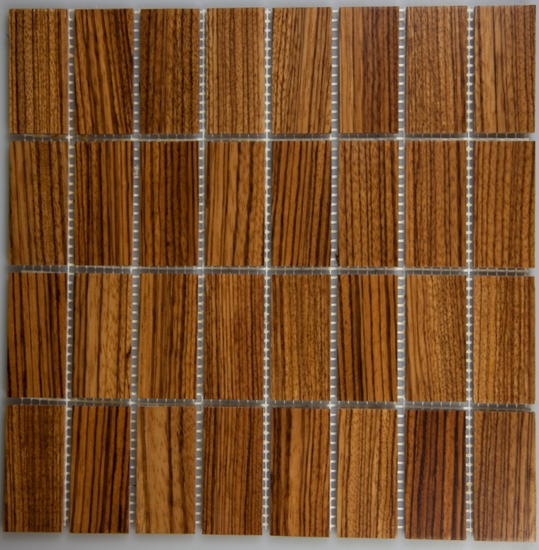 Zebrawood Wood Tiles