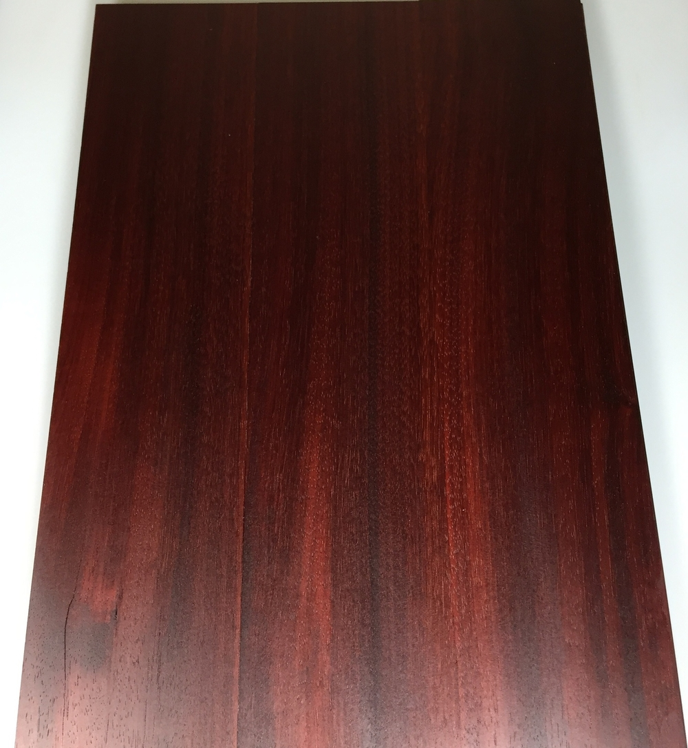 Padauk Aged with Oil Finish
