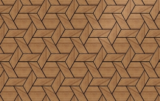 Hexagon Weave Pattern