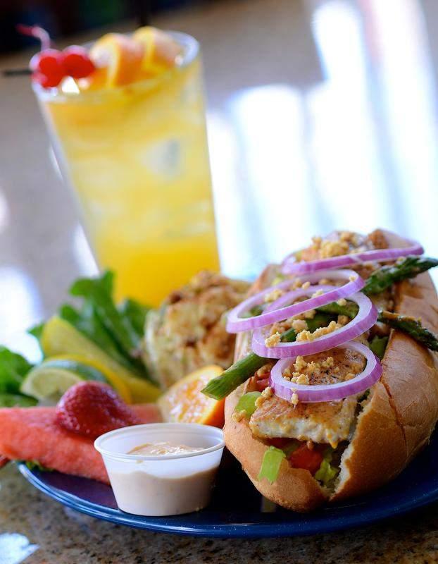 Miso Mahi Sandwich. Photo Taken By Florida Today