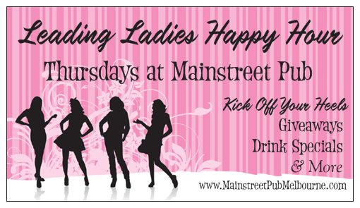 Leading Ladies Happy Hour 5-8pm