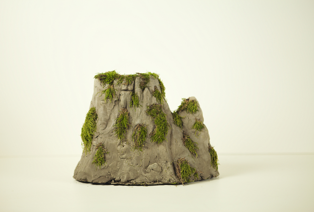 Finished mountain/  island