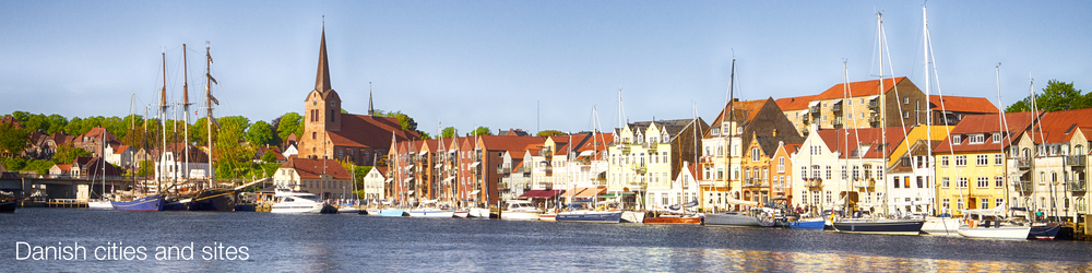 Top Danish cities and sites