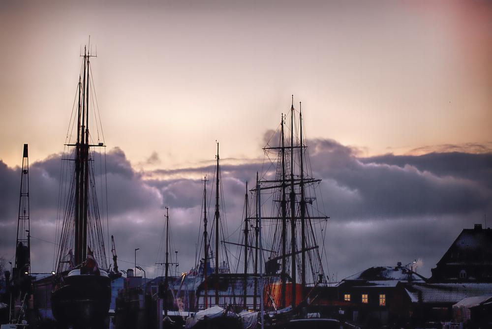 You sleep I'm freezing Svendborg winter harbor Comments