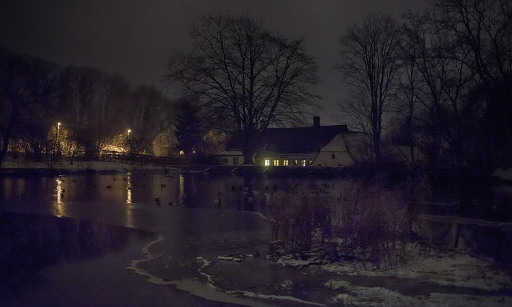 Winter night Svendborg Comments