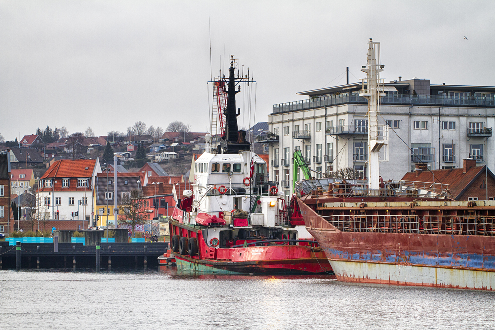The tugboat takes a rest Read about Svendborg Comments