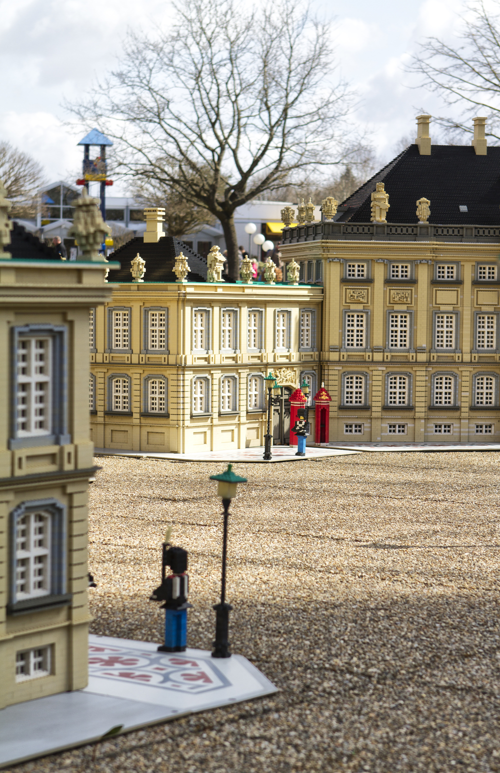 Visited the Queen but she was not at home Read about Lego Comments