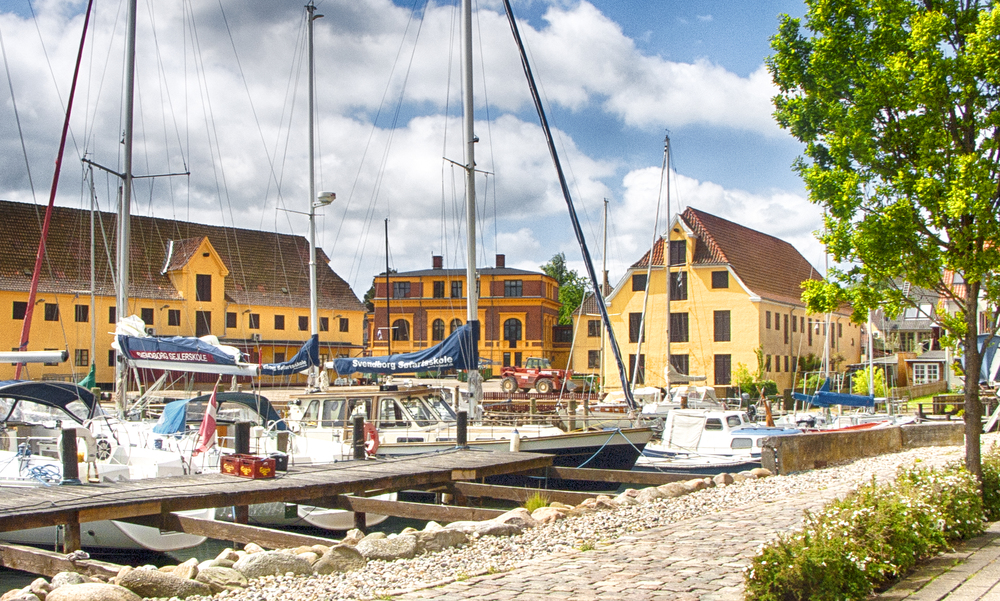 Sommer harbor Read about Svendborg Comments