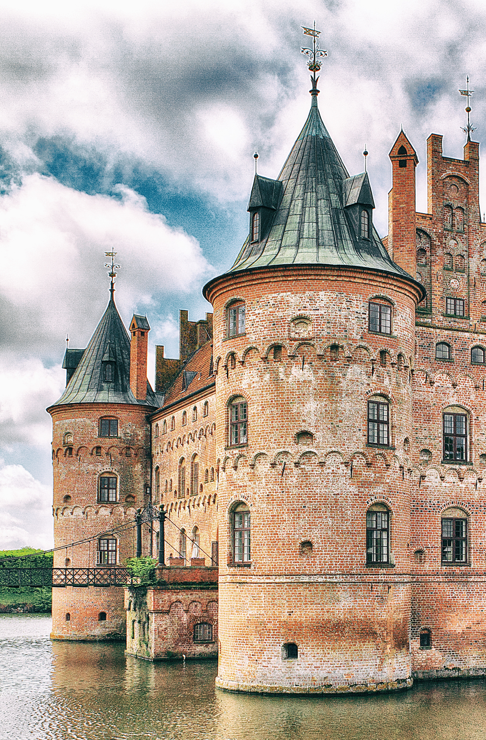 Keeps the enemy out Read about Egeskov Castle Comments