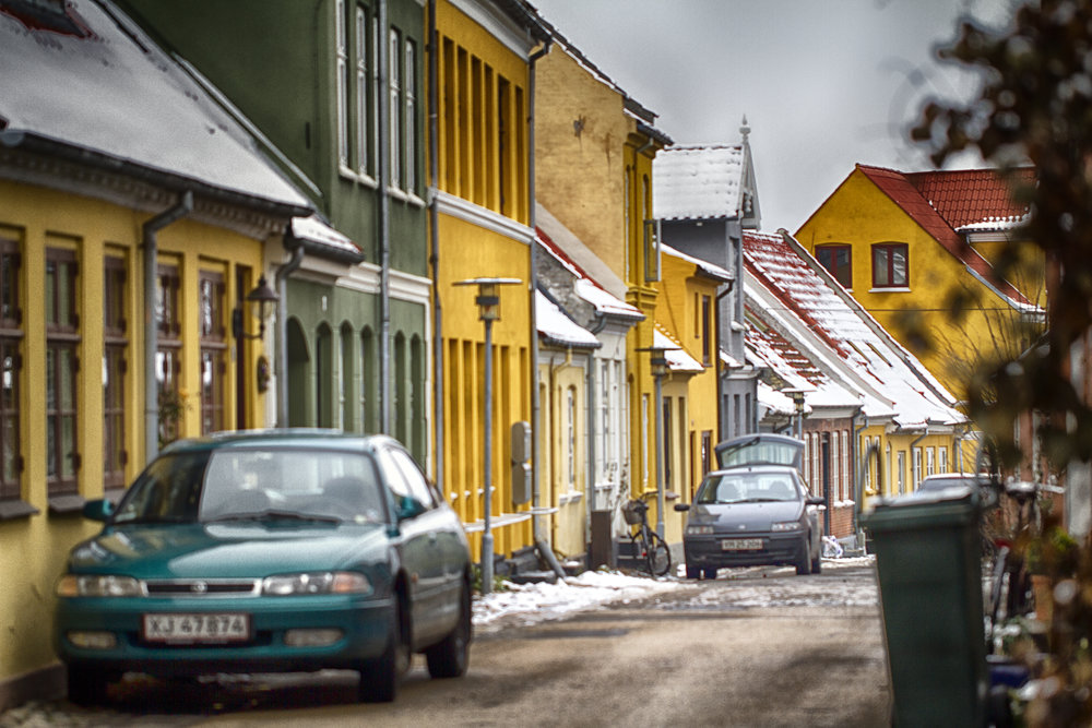 Narrow winter streets Comments