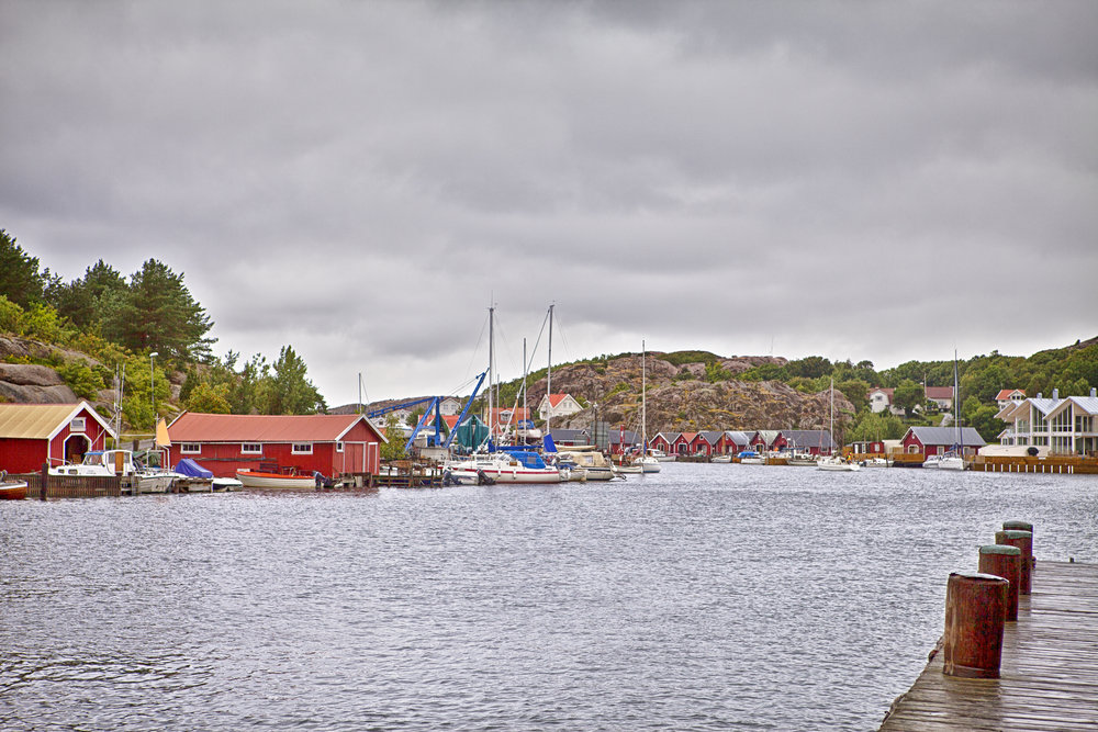 The clouds hang low over Lysekil Comments
