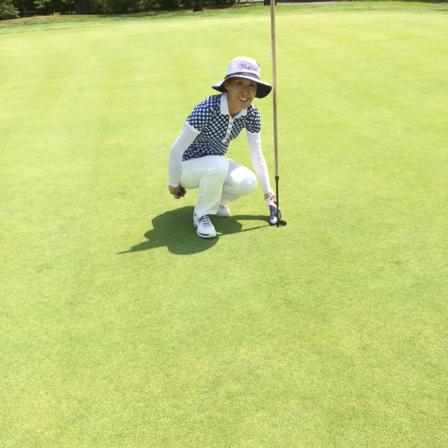 Congratulations to Hideko Lee (Forsgate) on her first Hole in One in the 2016 WTDGA Pro Lady at Bedens Brook