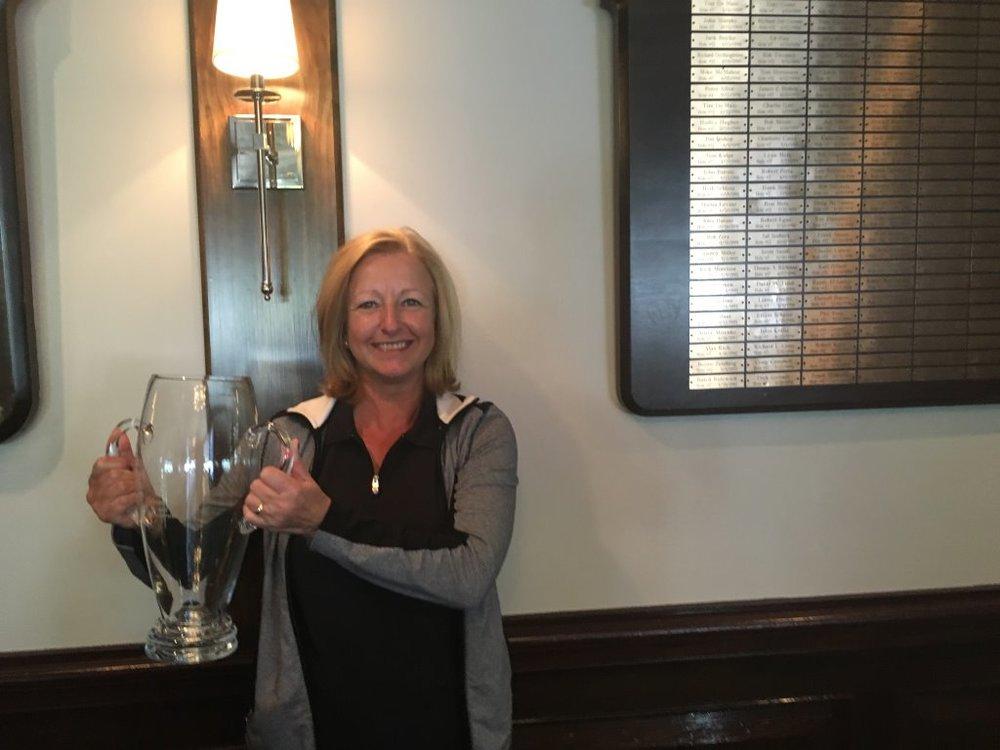 Julie Grimwood 2106 WTDGA Cup Net Winner