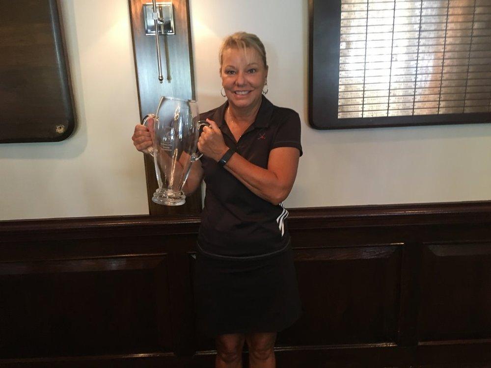 Caroly Brophy 2106 WTDGA Cup Gross Winner