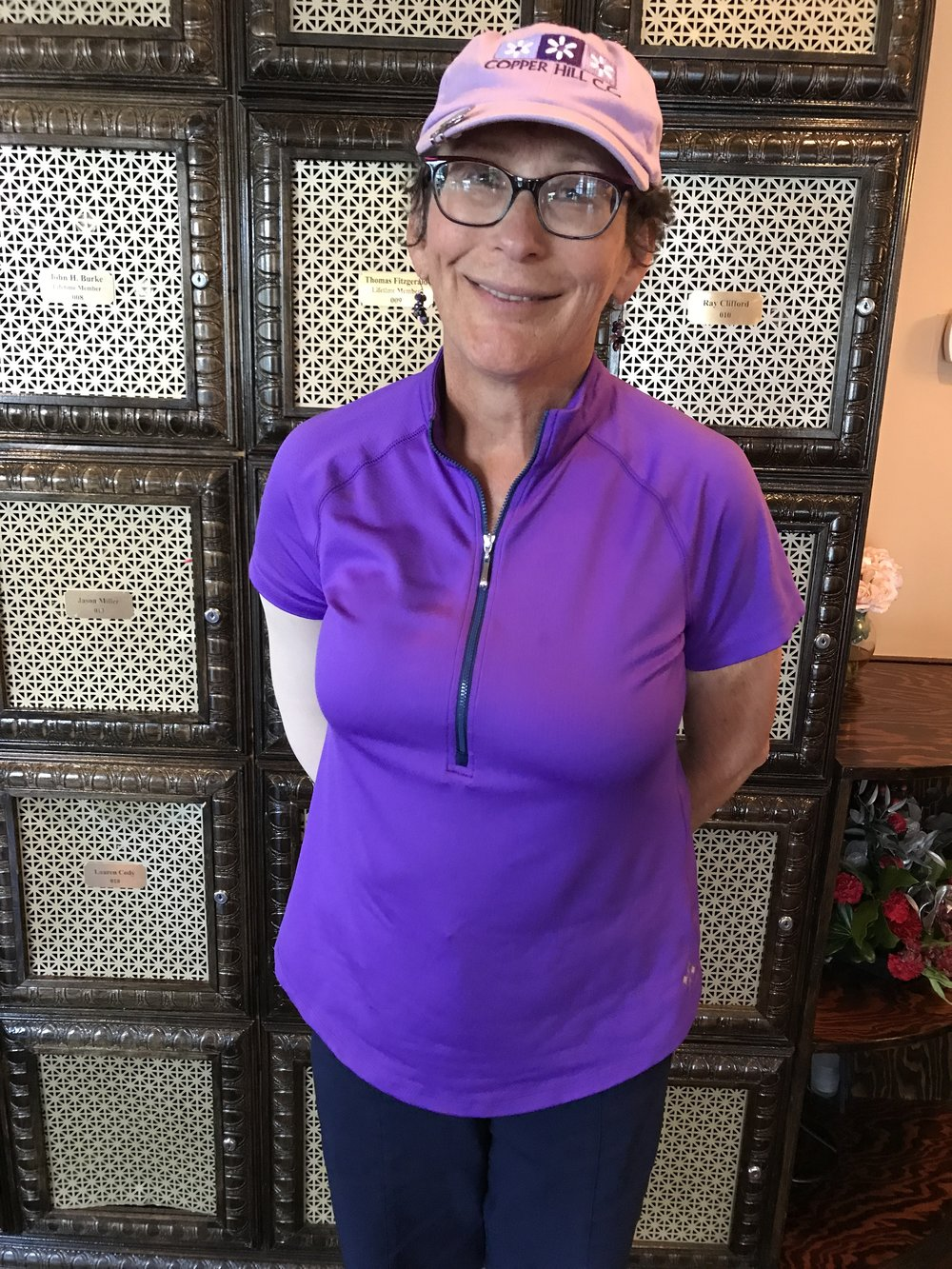Congratulations to Anne Schafer (Copper Hill) for her Hole in One in the 2017 WTDGA Seniors at Hopewell Valley