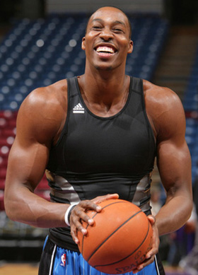 Dwight Howard - now he has experienced some serious hypertrophy