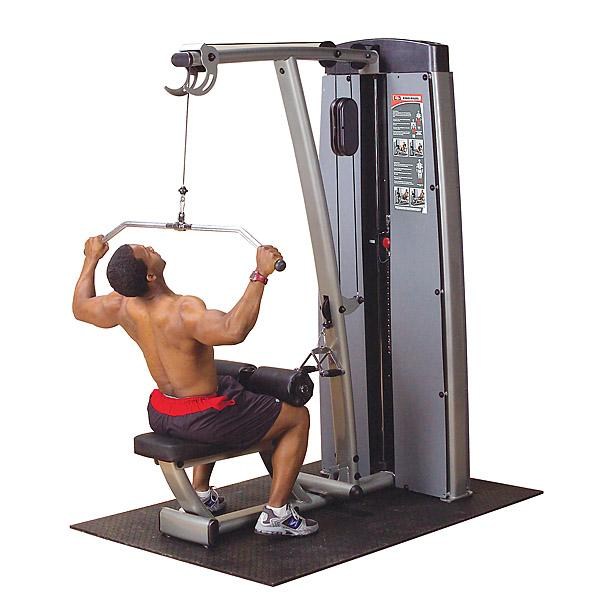 The lat pulldown machine - taking up precious gym floor space for far too long.